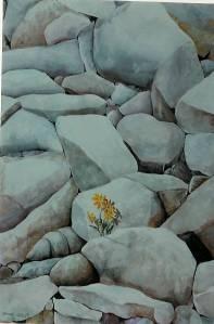 Life Series # 5. Watercolour. Copyright 2009 Nellie Jacobs