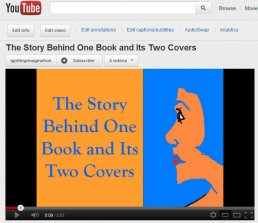 YouTube-The Story Behind One Book and its Two Covers