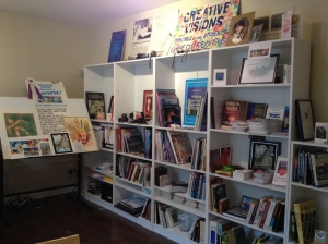 Displaying my books, art, awards, etc...